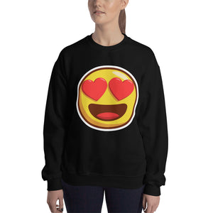 Heart Eyes Unisex Sweatshirt