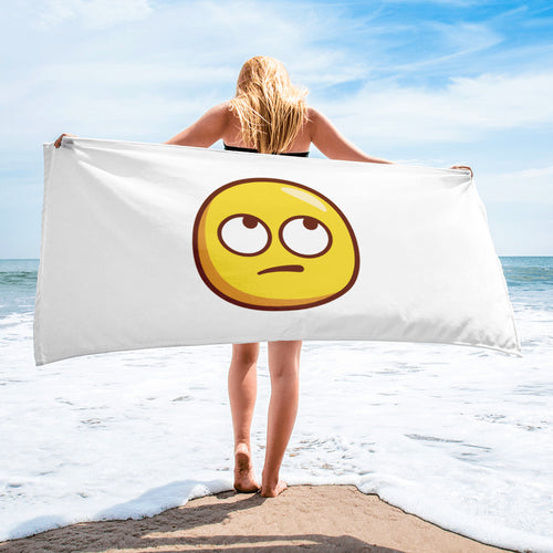 Face With Rolling Eyes Towel