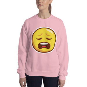 Weary Face Unisex Sweatshirt