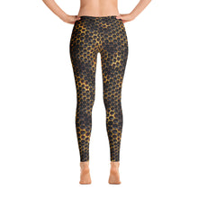 Load image into Gallery viewer, Honey Comb Bee Leggings