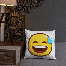 Load image into Gallery viewer, Smiling Face with Open Mouth and Cold Sweat Basic Pillow