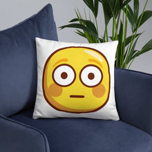 Load image into Gallery viewer, Flushed Face Basic Pillow