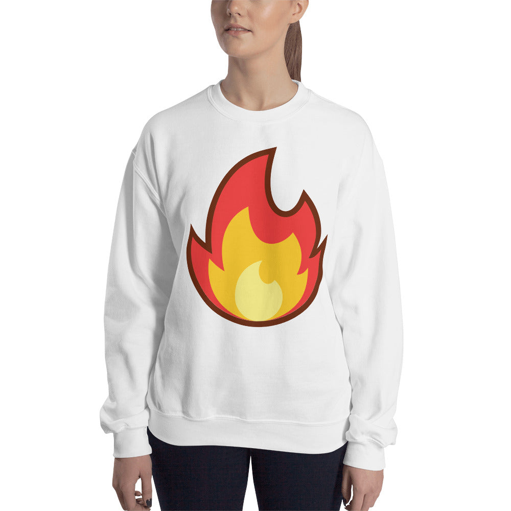 Fire Unisex Sweatshirt