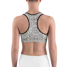 Load image into Gallery viewer, Sea Shells Sports bra