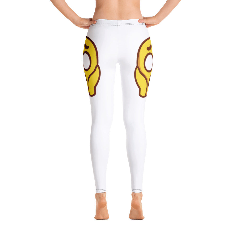 Scared Face Side Leggings