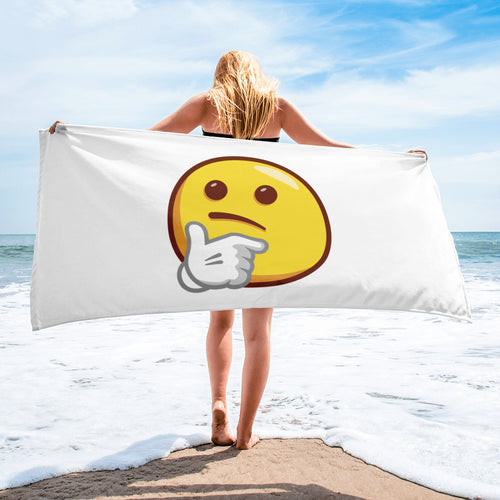 Thinking Face Towel