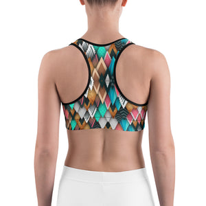 Abstract  2 Sports bra