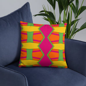 Color Pattern Premium Pillow