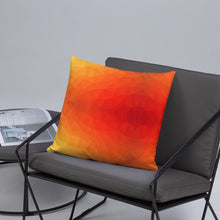Load image into Gallery viewer, Orange Geometry Basic Pillow