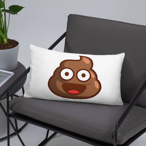 Pile of Poo Basic Pillow