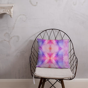 Pink Pattern Basic Pillow