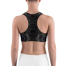 Load image into Gallery viewer, Fractal Flower Sports bra