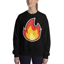Load image into Gallery viewer, Fire Unisex Sweatshirt