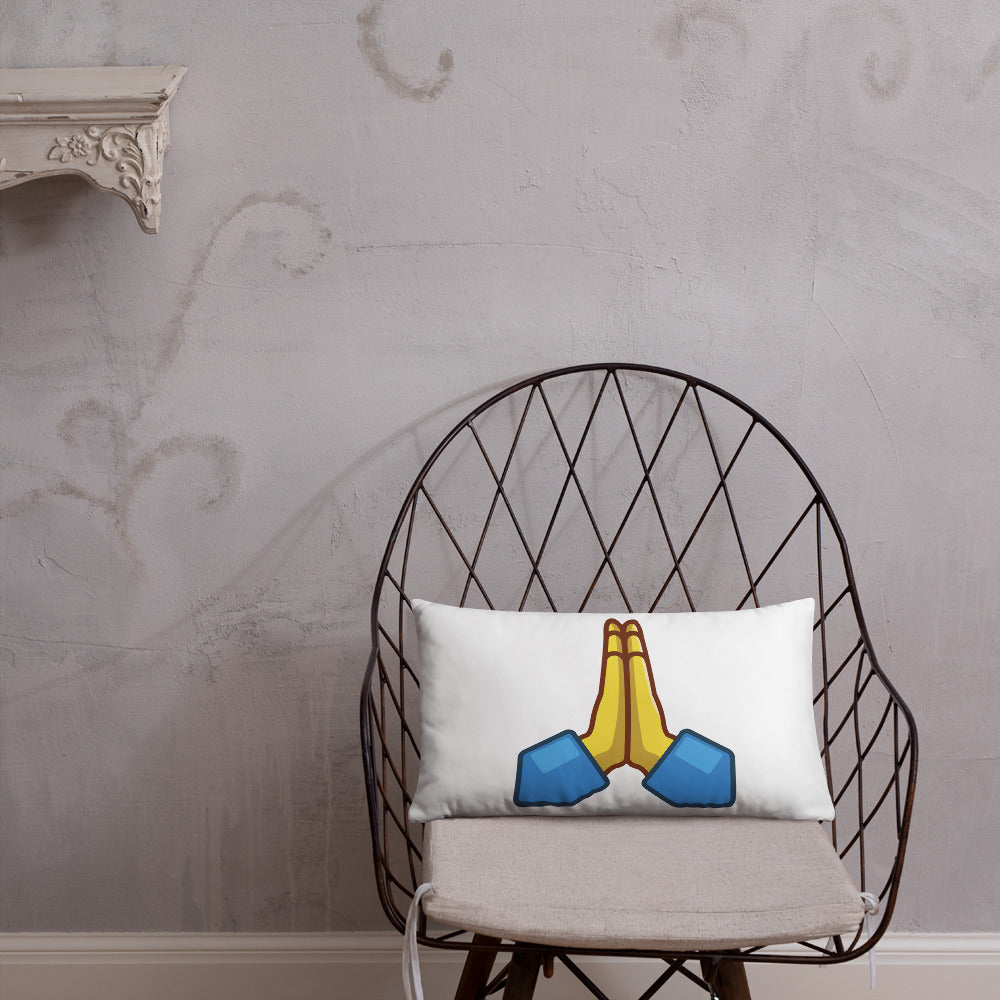 Praying Hands Basic Pillow