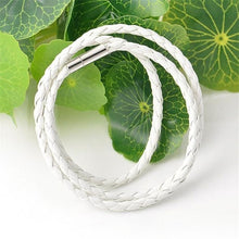 Load image into Gallery viewer, Men Fashion Leather Round Rope Bracelets