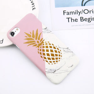 Flower Leaf Print Phone Case For iPhone