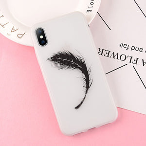 Luminous Love Heart Silicon Phone Cases For iPhone