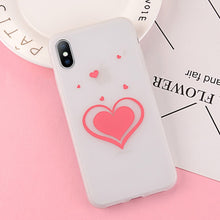 Load image into Gallery viewer, Luminous Love Heart Silicon Phone Cases For iPhone