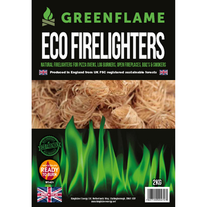 GreenFlame Natural Eco Firelighters