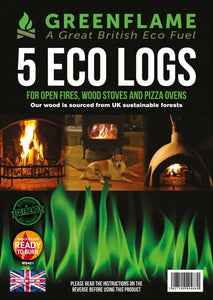 GreenFlame Eco Logs & Briquettes - Trade Sample Pack
