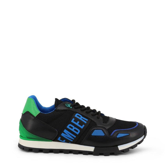 Bikkembergs Colorful Sneakers with Side Logo
