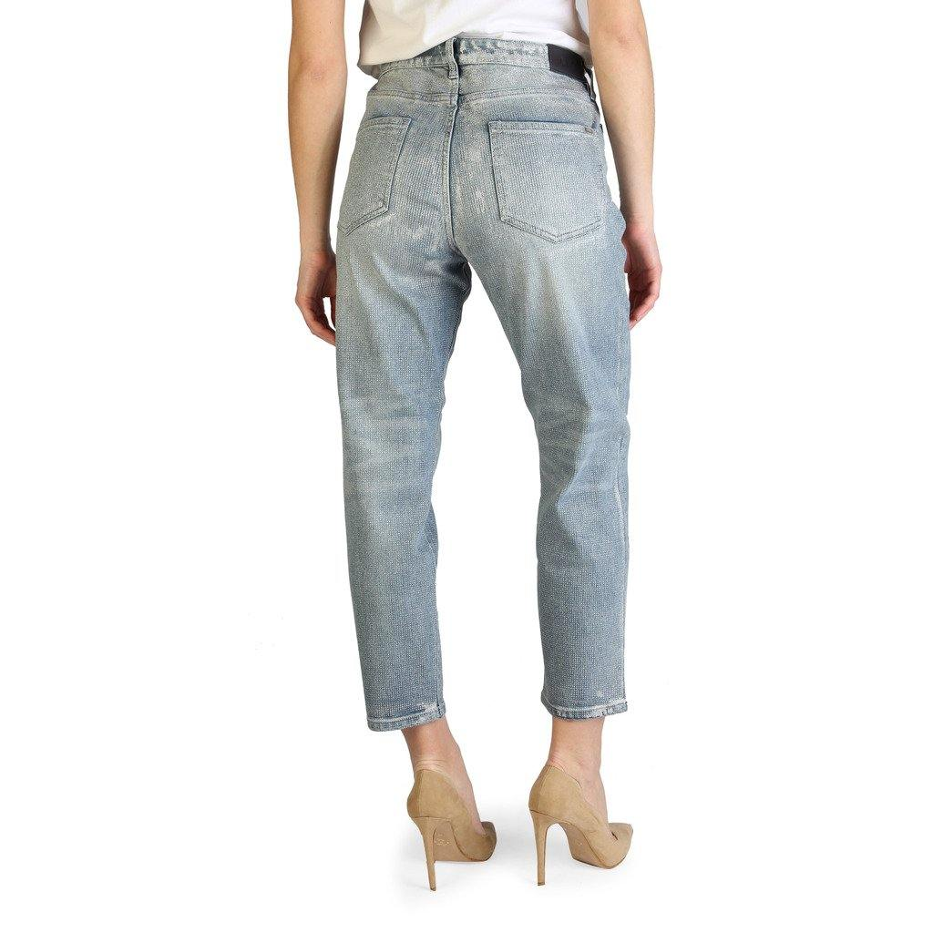 Armani Exchange High Waist Straight Leg Jeans - Brands On Sale