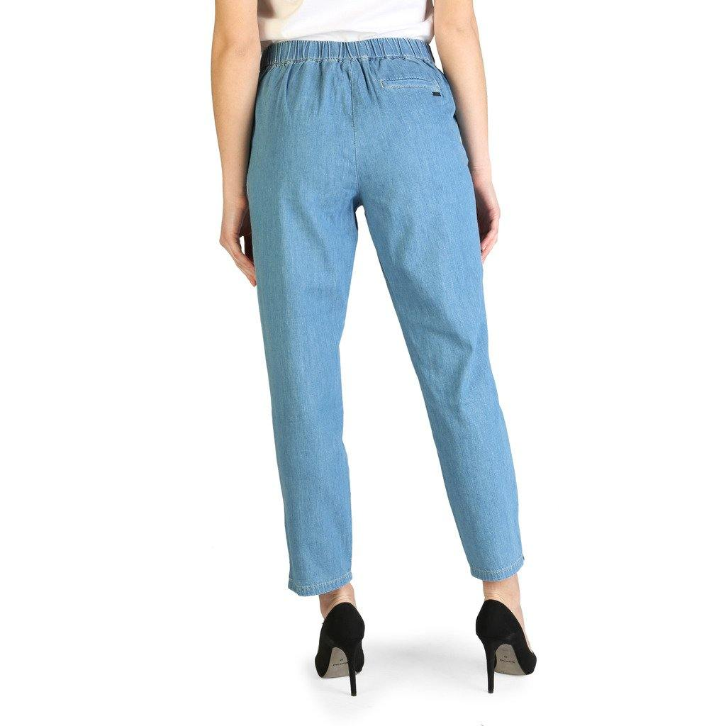Armani Exchange - Light Blue Trousers - Brands On Sale