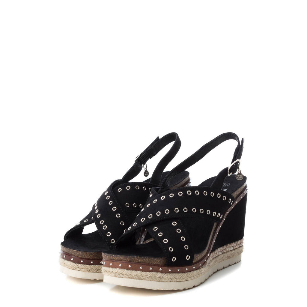 Xti Raffia Ladies Wedge 48922