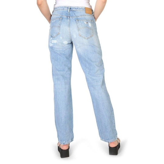Armani Jeans Women's Cotton Straight Jeans