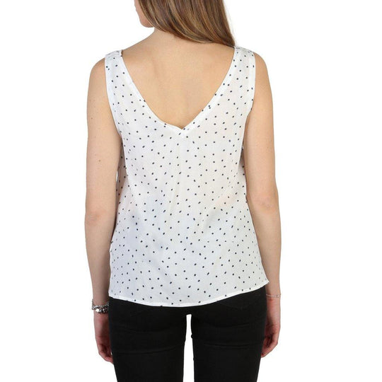 Armani Jeans Viscose Dotted Top