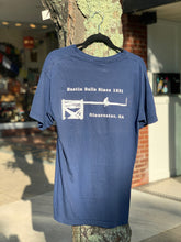 "Load image into Gallery viewer, ""Bustin' Balls Since 1931"" - Greasy Pole Navy T-Shirt"