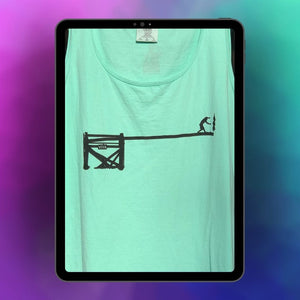 Greasy Pole Mint Tank Top