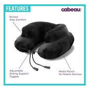 Air evolution Inflatable travel pillow features