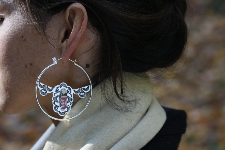 Santa Fe Hoop Earrings