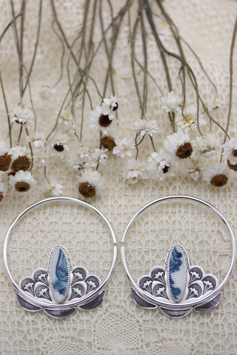 The Inflorescence Hoops (large gauge)