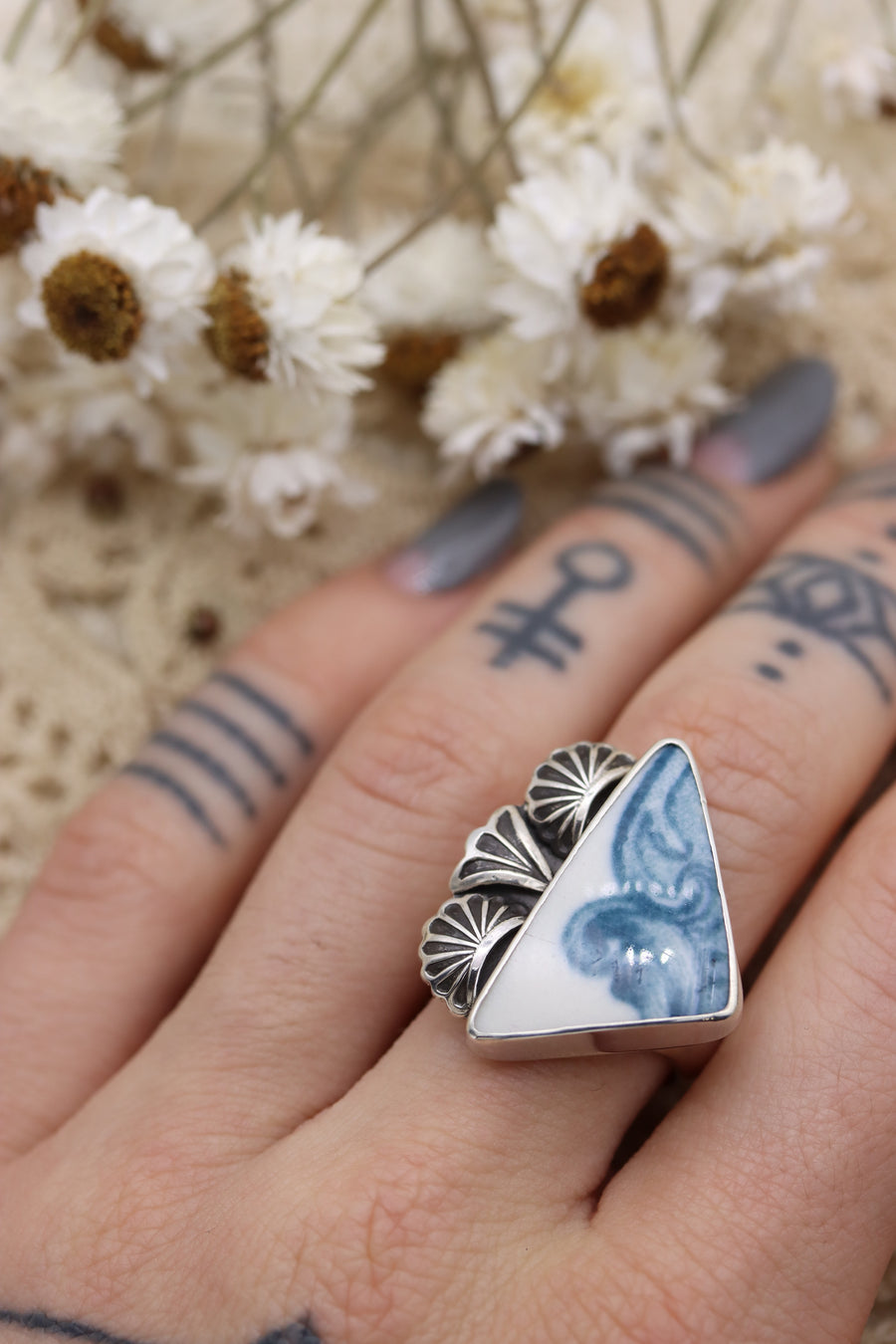 Tidal Wave Ring (size 7 3/4)