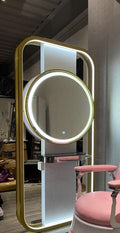 Mirror Standing Gray or Gold color
