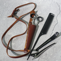 78523 Scissors holder Single scissor Leather