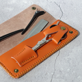 78524 Scissors case Single Scissor Leather