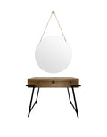 mirror Round + table