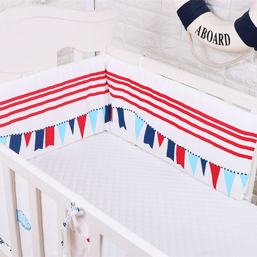 Classic Cot Bumper - Nested Nurseries