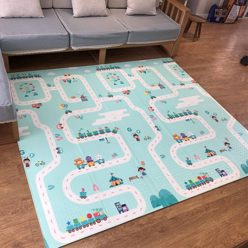 Portable Play Mat - Assorted Colours - Nested Nurseries