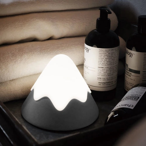 Cute Snow Mountain Night Light - Nested Nurseries