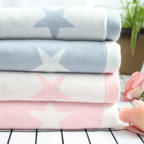 Reversible Cotton Blanket - Nested Nurseries