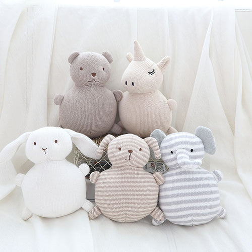 Knitted Plush Toy Collection - Nested Nurseries