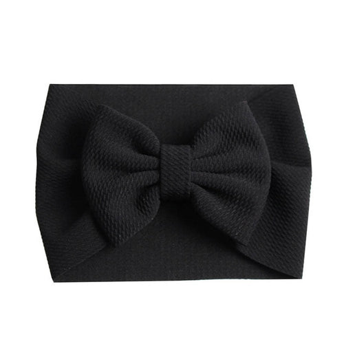 Black Bow Headband - Nested Nurseries