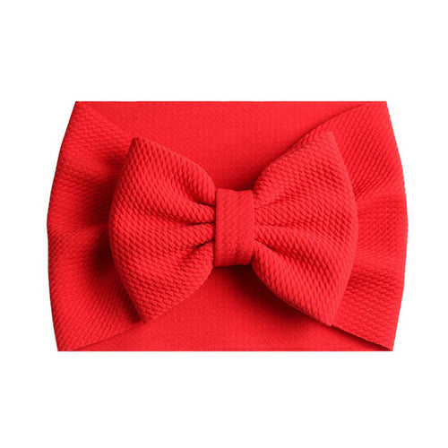 Red Bow Headband - Nested Nurseries