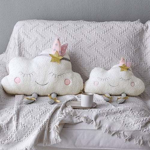Plush Princess Clouds Pillow - Nested Nurseries