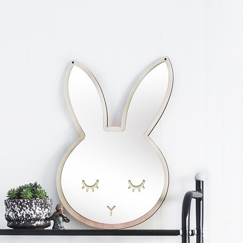 Bunny Rabbit Mirror - Nested Nurseries