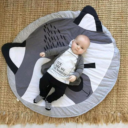 Raccoon Infants Play Mat - Nested Nurseries
